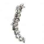 Гривна метал кристали