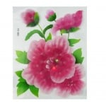 Апликация за стена 3D 20х25 см цвете БОЖУР светеща