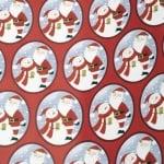 Хартия опаковъчна 70/200 мм Коледна АСОРТЕ