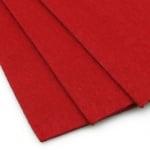 Филц 3 мм A4 20x30 см цвят червен -1 брой