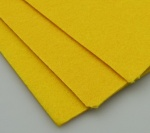 Филц 3 мм A4 20x30 см цвят жълт -1 брой