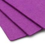 Филц 3 мм A4 20x30 см цвят лилав светло -1 брой