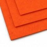 Филц 3 мм A4 20x30 см цвят оранжев-1 брой
