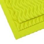 EVA материал /микропореста гума/ 2 мм А4 20х30 см на вълни жълт