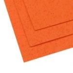 EVA материал /микропореста гума/ 2 мм А4 20х30 см двустранен на дупчици с блясък оранжев