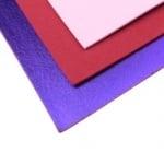 EVA материал /микропореста гума/ 2 мм А4 20х30 см металик лилав