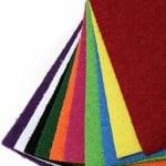 EVA материал /микропореста гума/ 2 мм А4 20х30 см имитация трева АСОРТЕ цветове -10 листа