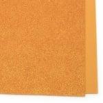 EVA материал /микропореста гума/ 2 мм А4 20х30 см с брокат дъга оранжев