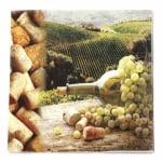Салфетка HOME FASHION 33x33см трипластова Vineyard -1 брой