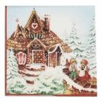 Салфетка HOME FASHION 33x33см трипластова Haensel und Gretel -1 брой