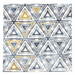 Салфетка HOME FASHION 33x33см трипластова Triangles blue -1 брой
