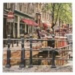 Салфетка за декупаж Ambiente 33x33 см трипластова Amserdam Canal-1 брой
