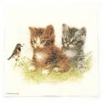 Салфетка за декупаж Ambiente 33x33 см трипластова Kitten Friend -1 брой