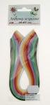 Ленти за квилинг (хартия 90 гр) 3мм/ 30см -8 интензивни цвята- 200бр