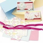 Комплект за направа и декорация на 4 броя картички 12x17.2 см