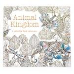 Книжка за оцветяване антистрес 24x24.5 см 24 страници - Animal Kingdom