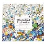 Книжка за оцветяване антистрес 24x24.5 см 24 страници - Wonderland Exploration