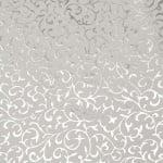 Дизайнерска индийска хартия 120 гр за скрапбукинг, арт и крафт 56x76 см foil print Silver HP30