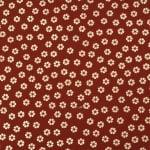Дизайнерска индийска хартия 120 гр за скрапбукинг, арт и крафт 56x76 см foil EMBOS Gold Flowers on Red HP40