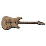 Фигурка кафява МДФ за декорация китара 100x35x2 мм