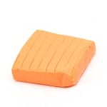 Полимерна глина неон оранжева - 50 грама