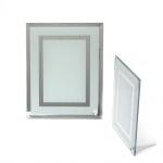 Рамка стъкло за сублимационен печат 17.5x22.5 см за снимка 10.15x18 см с огледало