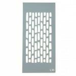 Шаблон за многократна употреба размер на отпечатъка 14.5x7 см Л35