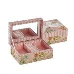 Роза 10 кутия за бижута