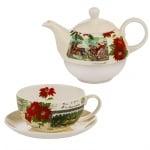 Коледен комплект за чай Tea for One