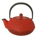 Чайник 0,6л. червен