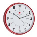 Стенен часовник червен