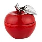 Купа червена ябълка