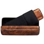 Чадър PIERRE CARDIN - Noire wood малък