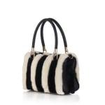 Дамска луксозна чанта от норка - ROSSI