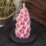 Свещ орхидея конус