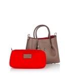 Дамска чанта PIERRE CARDIN - светло кафява