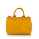Дамска чанта в жълт цвят STYLE PIERRE CARDIN