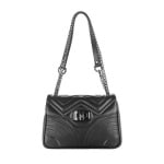 Дамска черна чанта  Sauvage Pierre Cardin