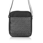 Мъжка чанта PIERRE CARDIN - черно и сиво