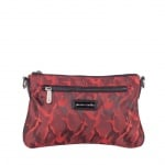Дамска кокетна червена чанта Pierre Cardin