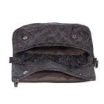 Дамска черна чанта Pierre Cardin от плат