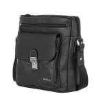 Мъжка спортна чанта от естествена кожа