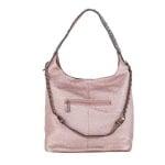 Дамска бляскава розова чанта Pierre Cardin