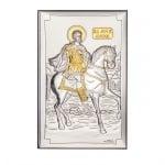 Икона св.Мина злато 9/15 см.