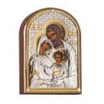 Икона Св.Семейство 4,5см./6,2см.