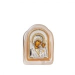 Икона Казанска Богородица стъкло