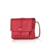 Дамска чанта наситено червена - ROSSI