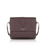 Дамска чанта цвят шоколад - ROSSI