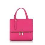Дамска стилна раница в малиново розово - ROSSI