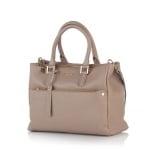 Дамска бизнес чанта в бежoво - ROSSI